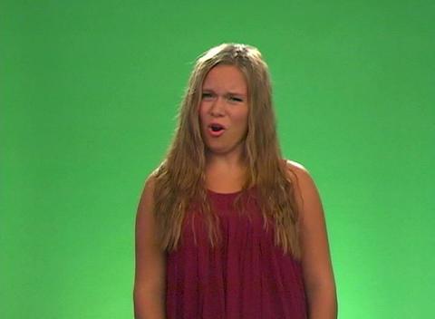 "Beautiful Teen Blonde Says ""No"" Footage"