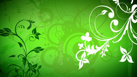Vector flowers 2 loop Animation