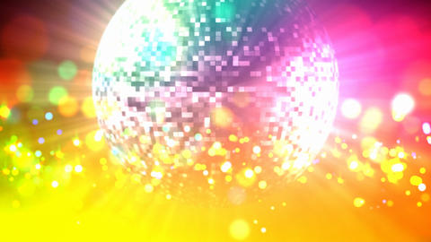 Disco ball loop Animation