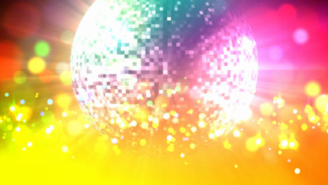 Disco ball loop Stock Video Footage