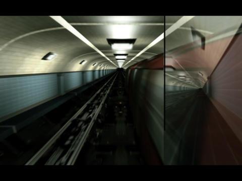 Underground, metro, tube CG動画素材