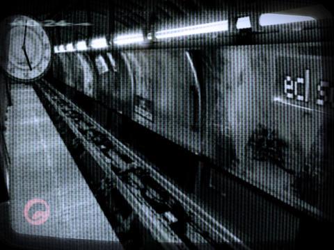 Underground, metro, tube, station Animation