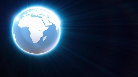 Globe loop Background Animation