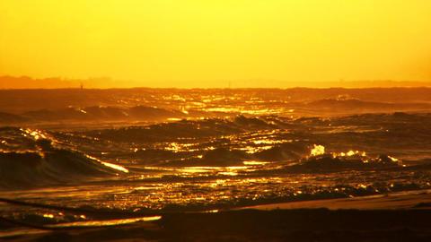 Morning Ocean Stock Video Footage