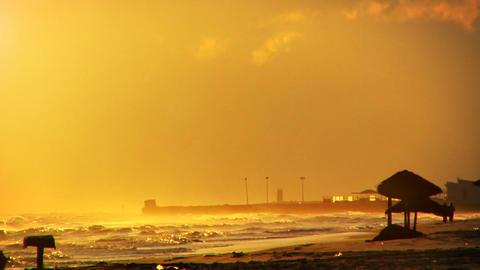 Morning Sea Haze Stock Video Footage
