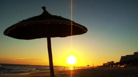Vacation Sunrise Stock Video Footage