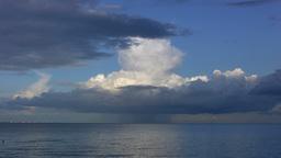 Single cell cumulonimbus cloud Footage