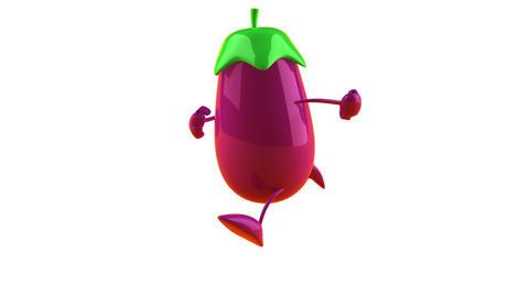 eggplant 2 Stock Video Footage