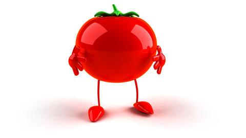 tomato bow Stock Video Footage