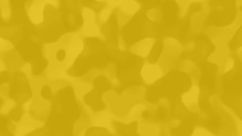 Looping animations of a muted yellow camouflage like pattern Stock Video Footage