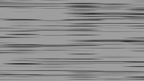 Looping animation of gray and black horizontal lines oscillating Animation
