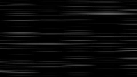 Looping animation of black and white horizontal lines... Stock Video Footage
