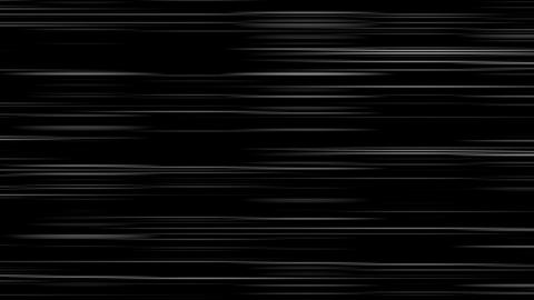 Looping animation of black and white horizontal lines oscillating Animation