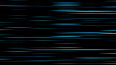 Looping animation of aqua and black horizontal lines oscillating Animation