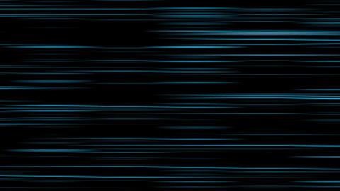 Looping animation of aqua and black horizontal lines oscillating Animation