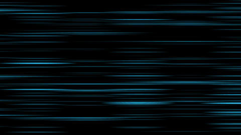 Looping animation of aqua and black horizontal lines... Stock Video Footage