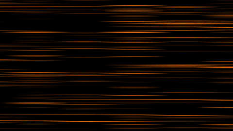 Looping animation of orange and black horizontal lines oscillating Animation