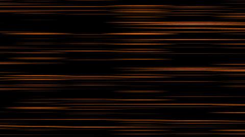 Looping animation of orange and black horizontal lines oscillating Animation