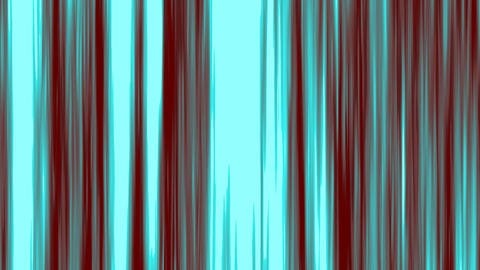 Looping animation of aqua and maroon vertical lines... Stock Video Footage