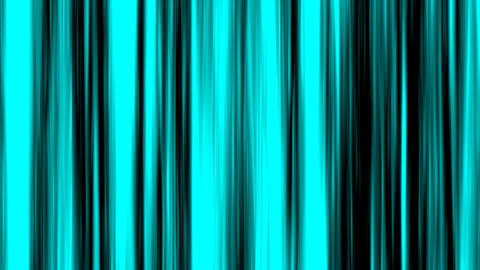 Looping animation of aqua and black vertical lines... Stock Video Footage