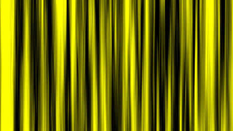 Looping animation of black and yellow vertical lines... Stock Video Footage