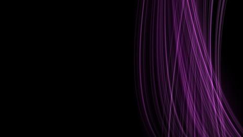 Looping animation of purple light rays Stock Video Footage