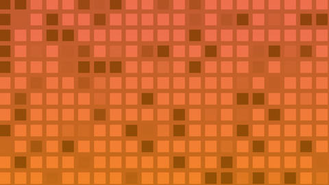 Looping animation of red and yellow colored tiles change... Stock Video Footage
