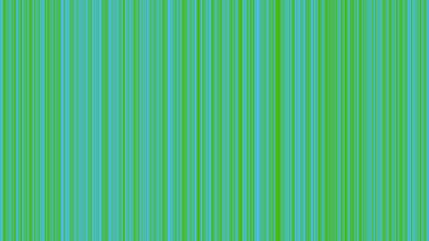Looping animation of green and aqua vertical lines oscillating Animation