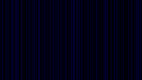 Looping animation of black and blue vertical lines... Stock Video Footage