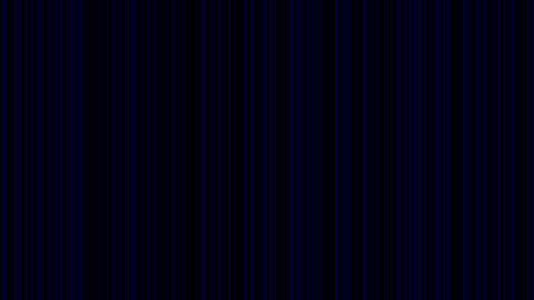 Looping animation of black and blue vertical lines oscillating Animation
