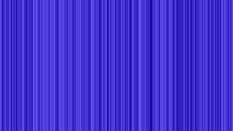 Looping animation of gray and blue vertical lines oscillating Animation