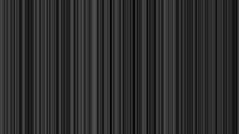 Looping animation of black and gray vertical lines... Stock Video Footage