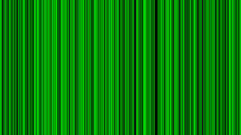 Looping animation of black and green vertical lines oscillating Animation