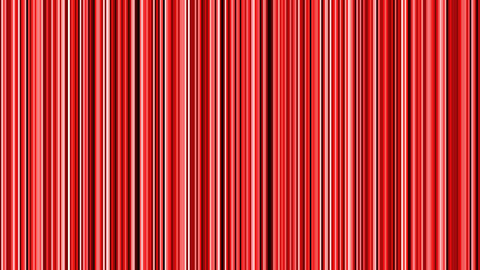 Looping animation of black, red and white vertical lines... Stock Video Footage