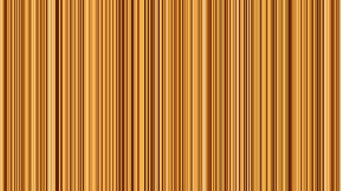 Looping animation of orange and tan vertical lines oscillating Animation
