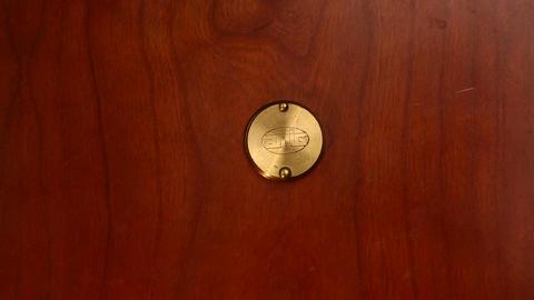 door eye 01 Stock Video Footage