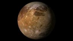 Ganymede satelite Animation