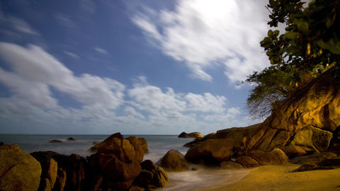 Resort time lapse 4K Stock Video Footage