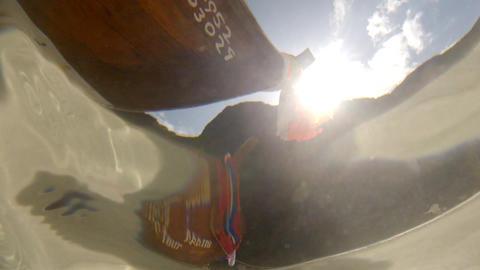 Thai fishing boat Footage