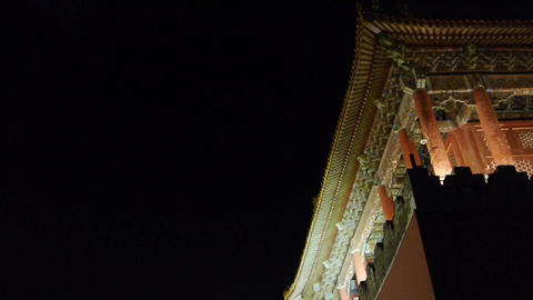 close-up of Beijing Forbidden City & Gorgeous... Stock Video Footage