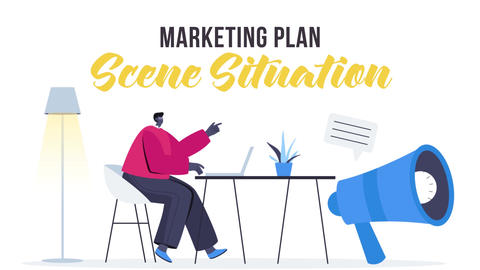 Marketing plan - Scene Situation After Effects Template