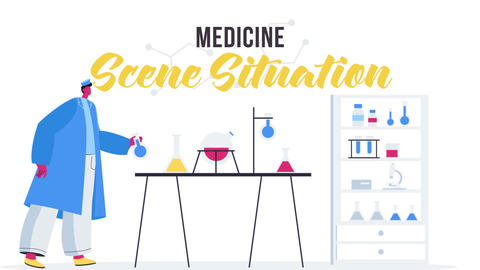 Medicine - Scene Situation After Effects Template