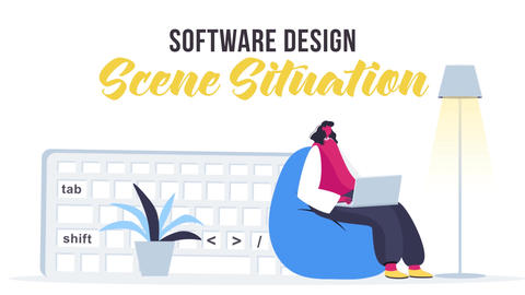 Software design - Scene Situation After Effects Template