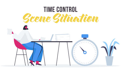 Time control - Scene Situation After Effects Template