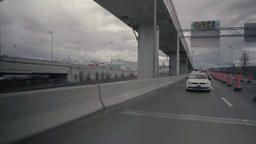 View of vehicles on Highway Interchanges Live Action