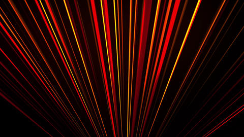 Abstract neon glow of spotlight lines, computer generated. 3d rendering abstract Acción en vivo