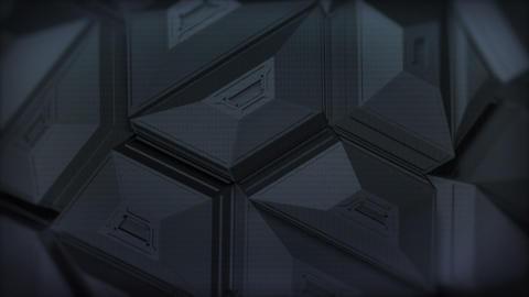 Dark Polygon Background Animation