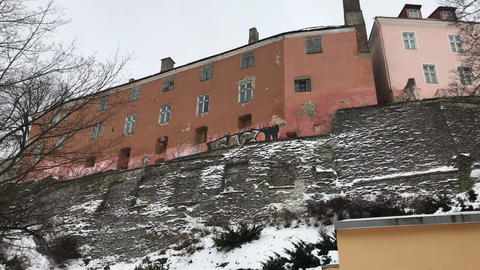 Tallinn, Estonia, A large brick building Live Action