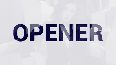 Trendy Opener Premiere Proテンプレート