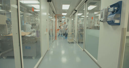 pharmaceutical research laboratory Live Action
